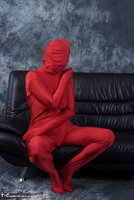 Hot Milf. Posing In My Red Funsuit Pt1 Free Pic 16