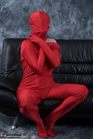Hot Milf. Posing In My Red Funsuit Pt1 Free Pic 17