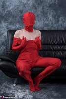 Hot Milf. Posing In My Red Funsuit Pt1 Free Pic 18