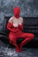 Hot Milf. Posing In My Red Funsuit Pt1 Free Pic 19