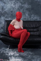 Hot Milf. Posing In My Red Funsuit Pt2 Free Pic 1