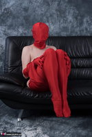 Hot Milf. Posing In My Red Funsuit Pt2 Free Pic 2