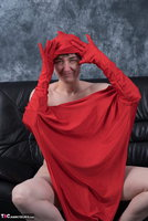 Hot Milf. Posing In My Red Funsuit Pt2 Free Pic 12