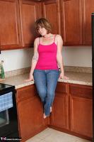Misty B. Blue Jeans Strip Free Pic 2