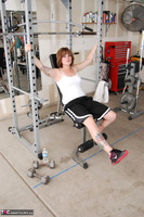 Misty B. Messing around in the gym Free Pic 1