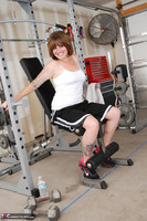 Misty B. Messing around in the gym Free Pic 2