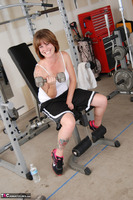 Misty B. Messing around in the gym Free Pic 3