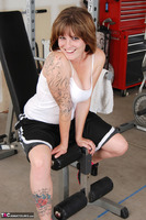 Misty B. Messing around in the gym Free Pic 4