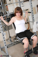 Misty B. Messing around in the gym Free Pic 5