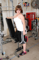 Misty B. Messing around in the gym Free Pic 6