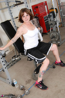 Misty B. Messing around in the gym Free Pic 10