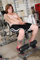 Misty B. Messing around in the gym Free Pic 17