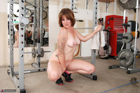 Misty B. Messing around in the gym pt2 Free Pic 17