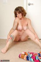 Misty B. Stripey dress striptease pt2 Free Pic 16