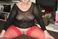 ValGasmic Exposed. Red Stockings Pt2 Free Pic 4