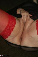 ValGasmic Exposed. Red Stockings Pt2 Free Pic 8