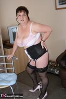 Kinky Carol. See Through Top & Stockings Pt2 Free Pic 18