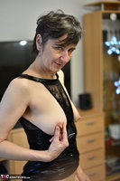 Hot Milf. Black Wet Look Pt2 Free Pic 3