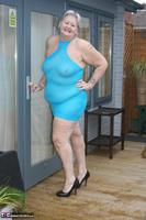 ValGasmic Exposed. Blue Dress Free Pic 10