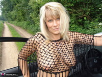 Sweet Susi. Posing In My PVC Thigh Boots With The Car Free Pic 10