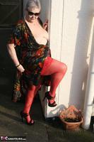 ValGasmic Exposed. Silky Dress Free Pic 11