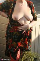 ValGasmic Exposed. Silky Dress Free Pic 19