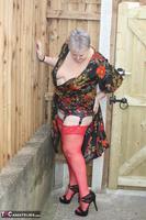 ValGasmic Exposed. Silky Dress Free Pic 20