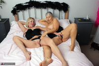 . Savana & Molly In Black Free Pic 13