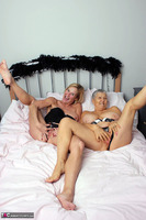 . Savana & Molly In Black Free Pic 20