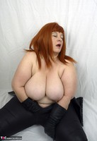 Mrs Leather. Leather trousers strip off Free Pic 14