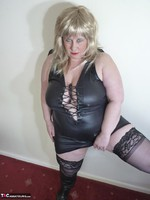 Mrs Leather. Blonde Tramp Free Pic 7