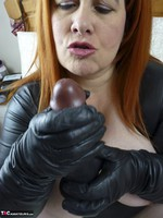 Mrs Leather. Big Black Cock Free Pic 1