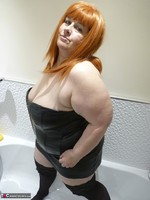 Mrs Leather. Wet Leather Free Pic 4