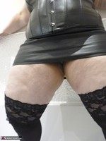 Mrs Leather. Wet Leather Free Pic 5