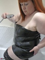 Mrs Leather. Wet Leather Free Pic 7
