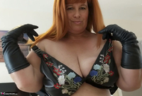 Mrs Leather. John's Blowjob Free Pic 1
