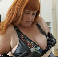 Mrs Leather. John's Blowjob Free Pic 7
