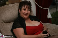 Kinky Carol. Stockings, Red & Black Pt1 Free Pic 1