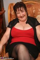 Kinky Carol. Stockings, Red & Black Pt1 Free Pic 2