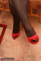 Kinky Carol. Stockings, Red & Black Pt1 Free Pic 4