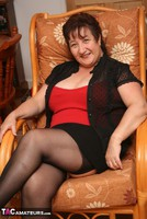 Kinky Carol. Stockings, Red & Black Pt1 Free Pic 5