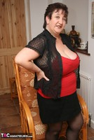 Kinky Carol. Stockings, Red & Black Pt1 Free Pic 6