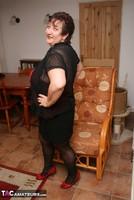 Kinky Carol. Stockings, Red & Black Pt1 Free Pic 7