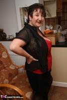 Kinky Carol. Stockings, Red & Black Pt1 Free Pic 9