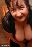 Kinky Carol. Stockings, Red & Black Pt1 Free Pic 10