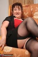 Kinky Carol. Stockings, Red & Black Pt1 Free Pic 11
