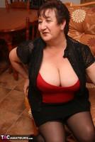 Kinky Carol. Stockings, Red & Black Pt1 Free Pic 13