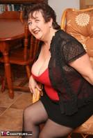 Kinky Carol. Stockings, Red & Black Pt1 Free Pic 14