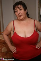 Kinky Carol. Stockings, Red & Black Pt1 Free Pic 17