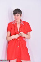 Hot Milf. Red Apron Free Pic 6